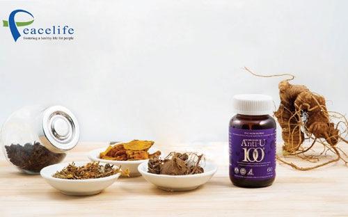 Thuốc chữa ung thư từ sâm ngọc linh | Peacelife Việt Nam |  Anti-u100 1
